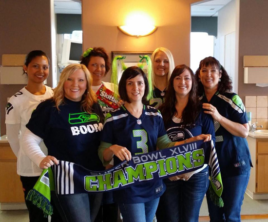 go hawks-bonney lake dental